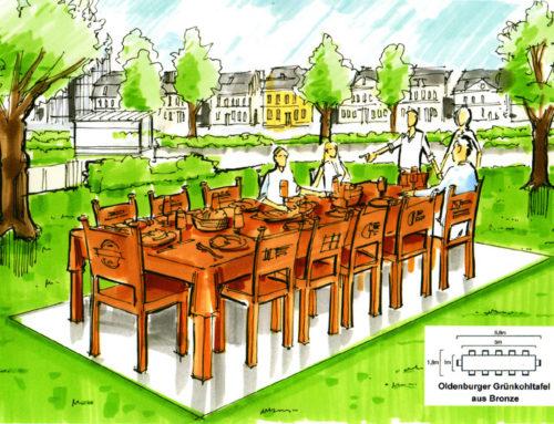 Der Grünkohl-Tisch für Oldenburg